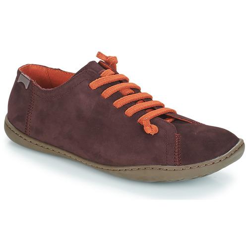 Shoes Women Derby Shoes Camper PEUC Burgundy
