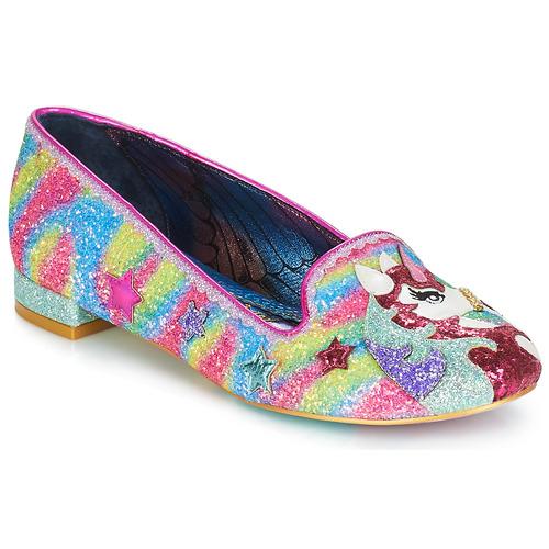 Shoes Women Flat shoes Irregular Choice Loosen the reins Pink