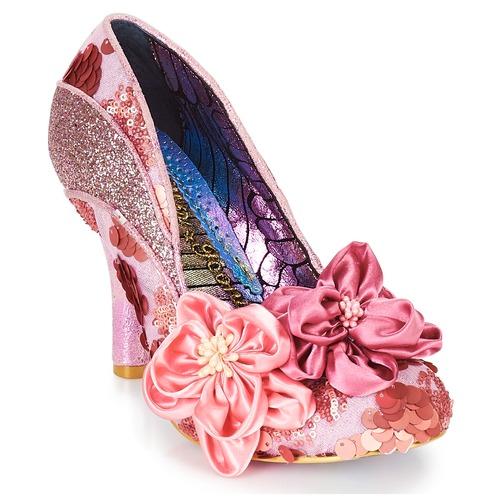 Shoes Women Heels Irregular Choice PEACH MELBA Pink