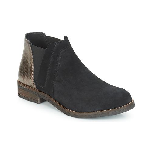 Shoes Women Ankle boots Clarks DEMI BEAT  black