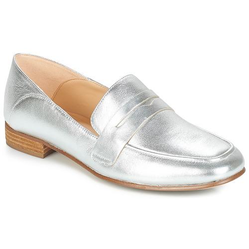 Shoes Women Flat shoes Clarks PURE IRIS Silver