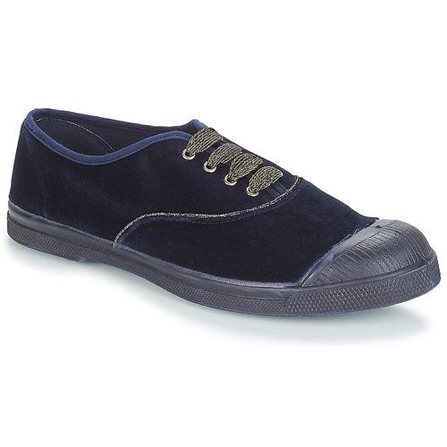 Shoes Women Low top trainers Bensimon TENNIS LACET Navy
