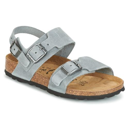 Shoes Boy Sandals Betula Original Betula Fussbett GLOBAL 2 Grey