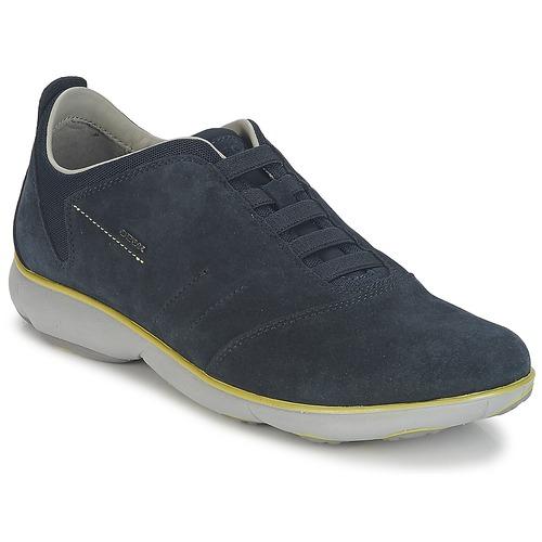 Shoes Men Low top trainers Geox NEBULA B Marine