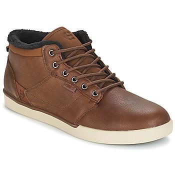 Shoes Men Hi top trainers Etnies JEFFERSON MID Brown