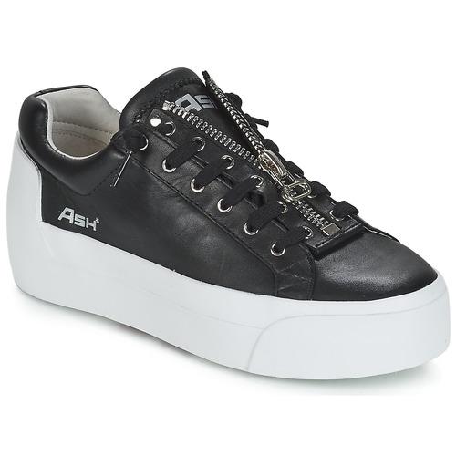 Shoes Women Low top trainers Ash BUZZ  black