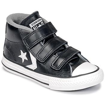 Shoes Children Hi top trainers Converse STAR PLAYER 3V MID  black / Mason / Vintage / White