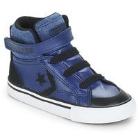 Shoes Boy Hi top trainers Converse PRO BLAZE STRAP HI Blue