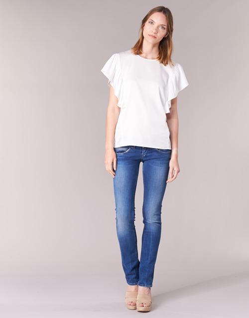 Clothing Women Straight jeans Pepe jeans VENUS Blue / Medium