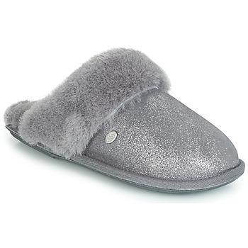 Shoes Women Slippers Just Sheepskin DUCHESS Grey