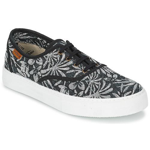 Shoes Women Low top trainers Victoria INGLES ESTAP HOJAS TROPICAL Black