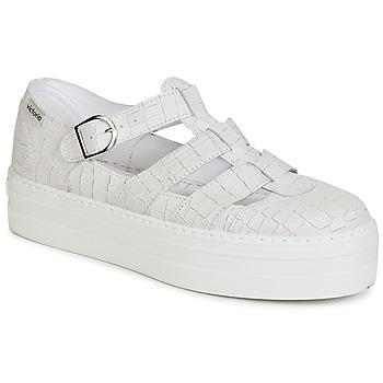 Shoes Women Sandals Victoria SANDALIA PIEL GRABADA COCO White