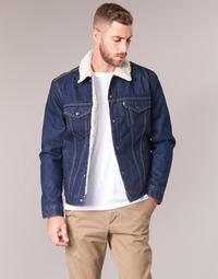 Clothing Men Denim jackets Levi's TYPE 3 SHERPA TRUCKER Trucker