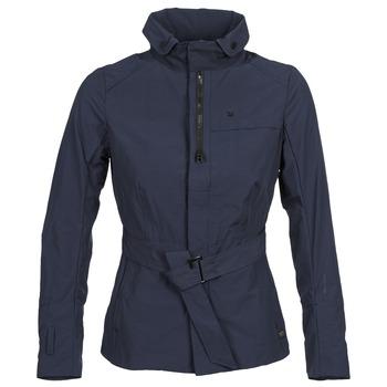 Clothing Women Trench coats G-Star Raw FLORENCE GARBER SLIM JKT WMN MARINE