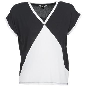 Clothing Women short-sleeved t-shirts Nikita NEWSON Black / White