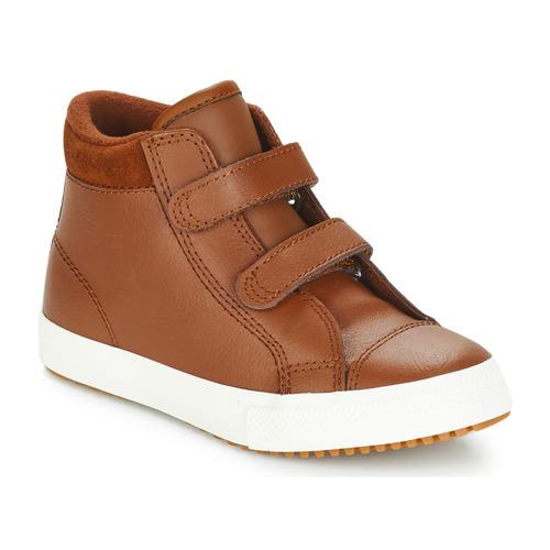 Shoes Children Hi top trainers Converse CHUCK TYLOR ALL STAR AV PC BOOT - HI Brown