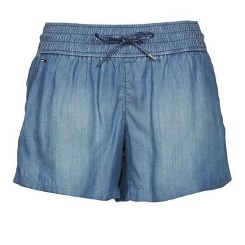 Clothing Women Shorts / Bermudas Tommy Jeans TINA Blue