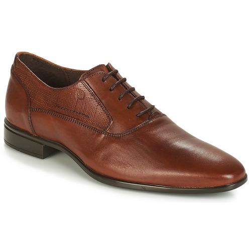 Shoes Men Brogues Carlington JIPINO Cognac