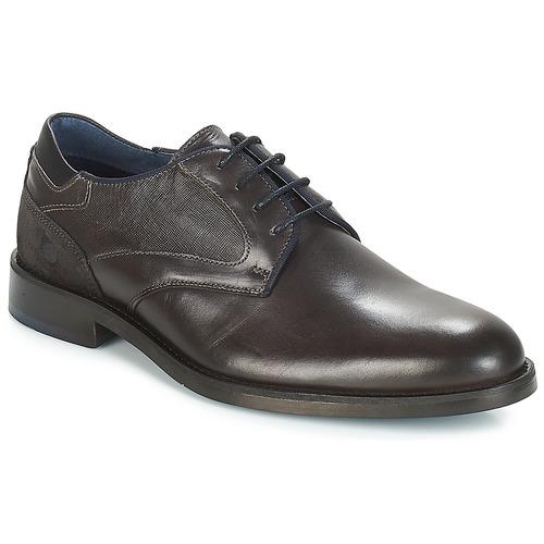 Shoes Men Derby Shoes Carlington JECINZA Grey
