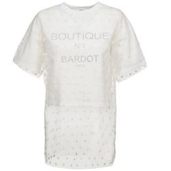 Clothing Women Sweaters Brigitte Bardot ANASTASIE Ecru