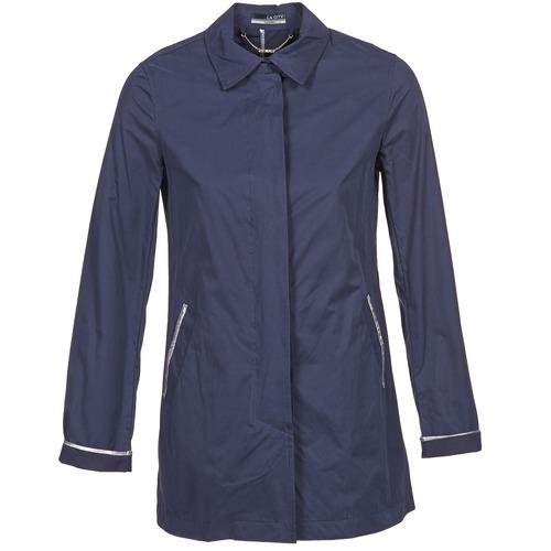 Clothing Women Trench coats La City FELICIANA Marine