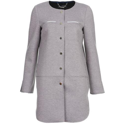 Clothing Women coats La City FLORA Grey