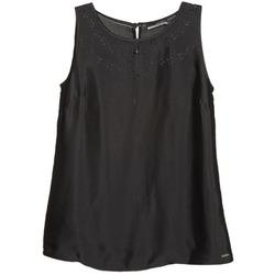 Clothing Women Tops / Sleeveless T-shirts La City LUCRETIA Black