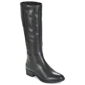 Shoes Women High boots Geox D FELICITY Black