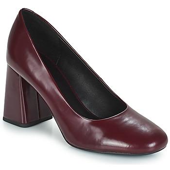 Shoes Women Heels Geox D SEYLISE HIGH Bordeaux