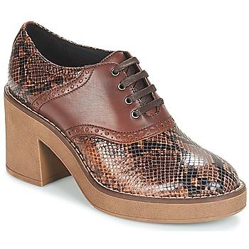 Shoes Women Heels Geox D ADRYA MID Brown