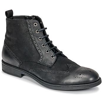 Shoes Men Mid boots Geox U JAYLON Black