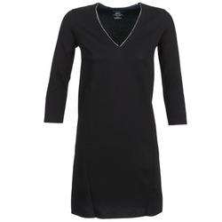 Clothing Women Short Dresses Majestic BRUNEHILDE Black