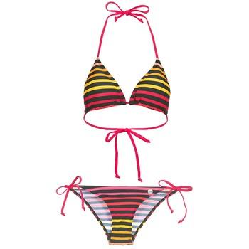 Clothing Women Bikinis Little Marcel BASTINE Black / Multicoloured