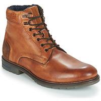 Shoes Men Mid boots Bugatti ROPARA Cognac