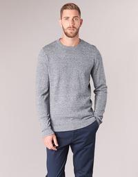 Clothing Men jumpers Jack & Jones JJEBASIC Blue