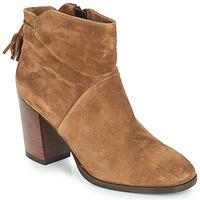 Shoes Women Mid boots André CARESSE Camel