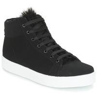 Shoes Women Hi top trainers André GOSPEL Black