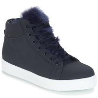 Shoes Women Hi top trainers André GOSPEL Marine
