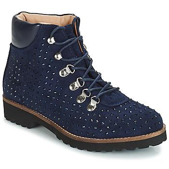 Shoes Women Mid boots André CALCEDOINE Blue