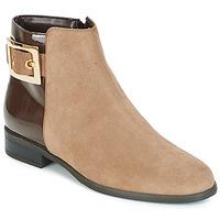 Shoes Women Mid boots André ELFIE Beige