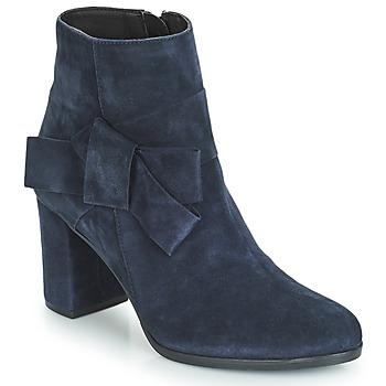 Shoes Women Ankle boots André LEONOR Blue