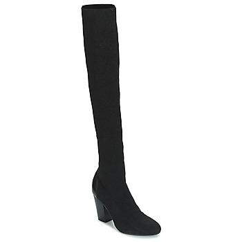 Shoes Women Thigh boots André CATWALK Black