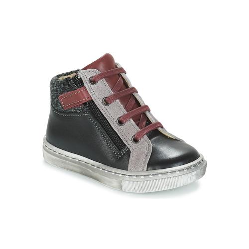 Shoes Boy Mid boots André CORBEAU Black