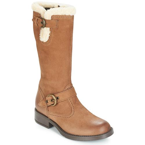 Shoes Girl High boots André FÉVRIER Beige