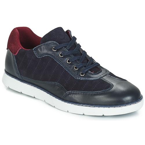 Shoes Boy Low top trainers André TITAN Marine