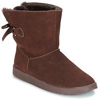 Shoes Women Mid boots André TOUDOU Brown