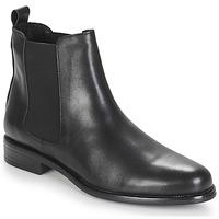 Shoes Women Mid boots André CARAMEL Black