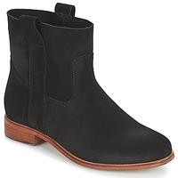 Shoes Women Mid boots André TITAINE Black