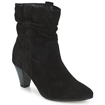 Shoes Women Mid boots André FANFAN Black
