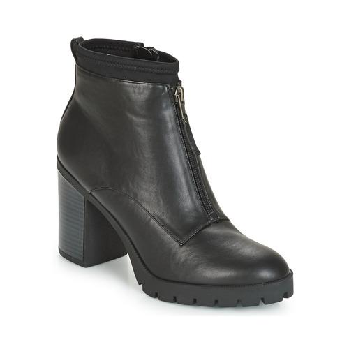 Shoes Women Mid boots André TROUBADOUR Black